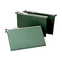Green Foolscap Suspension Files Pk50