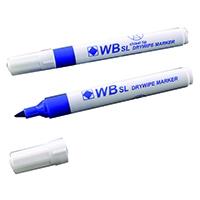 Chisel Tip Blue Whiteboard Marker