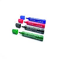 Chisel Tip Assorted Permanent Marker Pk4