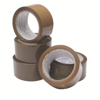 Buff / Brown Packaging Tape 50mmx66m Pk6