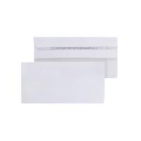 White S/Seal DL Envelope 80gsm Pk1000