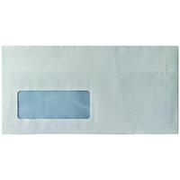 White DL Window Envelopes S/Seal Pk1000
