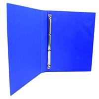 Blue 16mm Pres 4O-Ring Binder Pk10