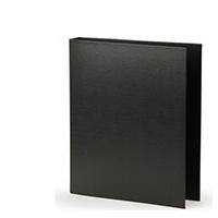 Black 50mm Pres 4D-Ring Binder Pk10