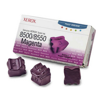 Xerox Phaser 8500/50 Magenta Ink Stix x3