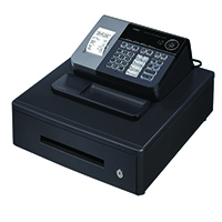 Casio Cash Register Black CASIO SES10MD