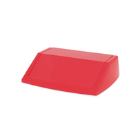 Addis Red 54 Ltr Fliptop Bin Lid