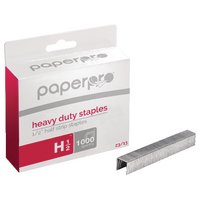 Paperpro H/Duty 23/13 Staples Pk1000