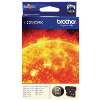 Original Brother LC980 Black Ink