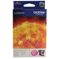 Brother Ink Cartridge LC980M Magenta