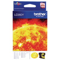 Brother Ink Cartridge LC980Y Yellow