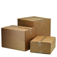 Double Wall 334x225x232mm Boxes Pk10