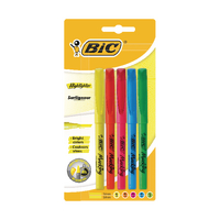 Bic Brite Liner Highlighters Asstd Pk5