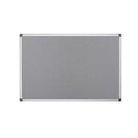 Bi-Office Grey Felt 900x600mm Board