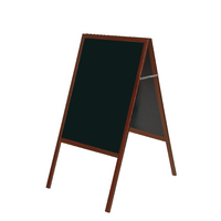Bi-Office Cherry A Frame Chalk Board