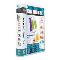 Elba Maxi 40mm Pres 4D Ring Binder Pk10