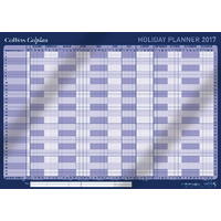 Collins Colplan 2017 Holiday Planner