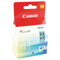 "Original Canon CL41 ""FINE"" Colour Ink"
