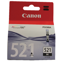Canon Ink Cartridge CLI-521BK Black