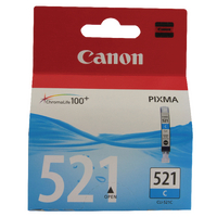 Canon Ink Cartridge CLI-521C Cyan