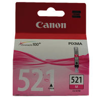 "Original Canon CLI521 Magenta ""ChromaLife"" Ink"