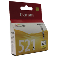 Canon Ink Cartridge CLI-521Y Yellow