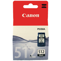 "Original Canon PG-512 ""FINE"" XL Black Ink"