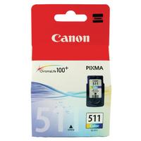 Canon Ink Cartridge CL-511 Tri Colour