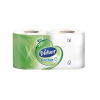 Triple Velvet 3-Ply Toilet Roll Pk24