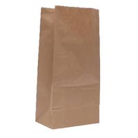 Paper Bag Brown W250xD150xH305mm Pk500