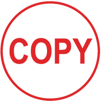 Colop EOS R17 COPY Self-Inking Stamp