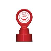 Colop Red Motiv Stamp Happy Face MOTIVSM