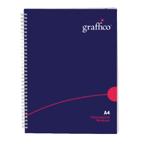 Graffico Twin Wire A4 Notebook 500-0510