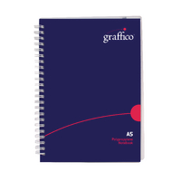 Graffico Twin Wire A5 Notebook 500-0511