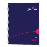 Graffico Twin Wire A4 Notebook 500-0504
