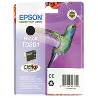 Original Epson T0801 Humming Bird Black Ink