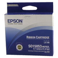 Epson 8762L Black Fabric Ribbon