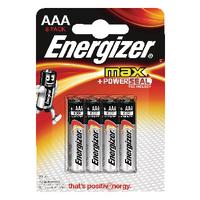 Energizer MAX E92 AAA Batteries Pk8