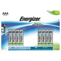Energizer EcoAdv AAA Batteries E92 Pk8