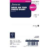 Filofax Pocket Week/View 2017 Refill