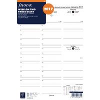 Filofax A4 Week/View Appt 2017 Refill