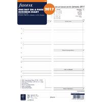 Filofax A4 Day/Page 2017 Refill 17-68719