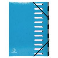 Exacompta Light Blue 12Pt Iderama File