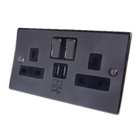 Connekt Gear 2-Gang 2x USB Ports Extnsn