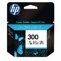 HP 300 Tri Colour Inkjet Cartridge CC643EE