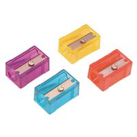 Helix Plastic 1 Hole Sharpener Astd Pk50