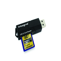 Integral USB 3.0 Superspeed Card Reader