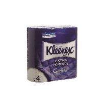 Kleenex Quilted Toilet Rolls Pk6x4 Roll