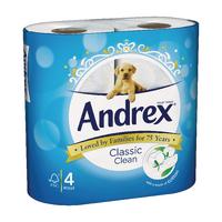 Andrex Classic White Toilet Roll Pk24