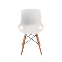 Jemini White 4 Leg Wire Breakout Chair